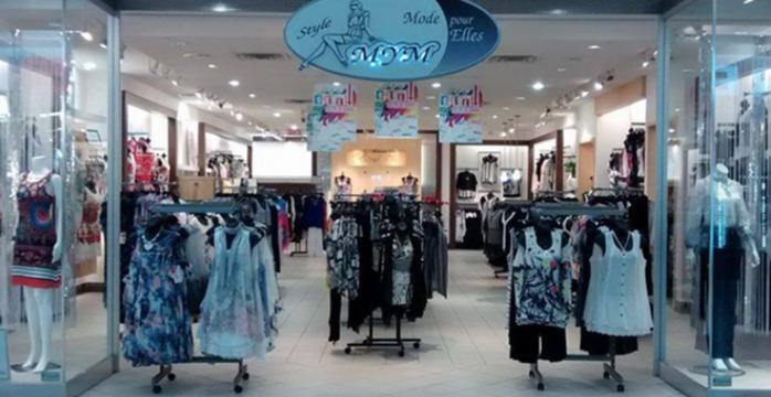 Plusieurs boutique de linge pour femme situé à St-Jérôme, Saint-Eustache, Rosemère, Joliette, Trois-rivières et Shawinigan